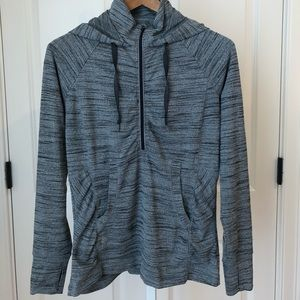 Athleta 3/4 Zip Pullover